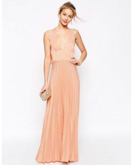Silk petal dress